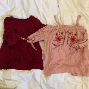 Tops - Two shirt bundle